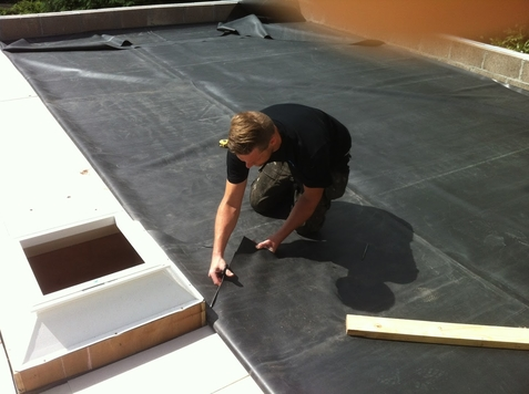 rubber roofing systems in southampton